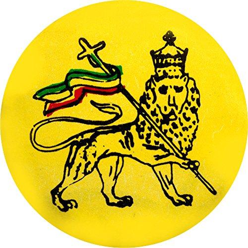"Reggae - Lion Of Judah (Flag) - 1 1/4"" Button / Pin"