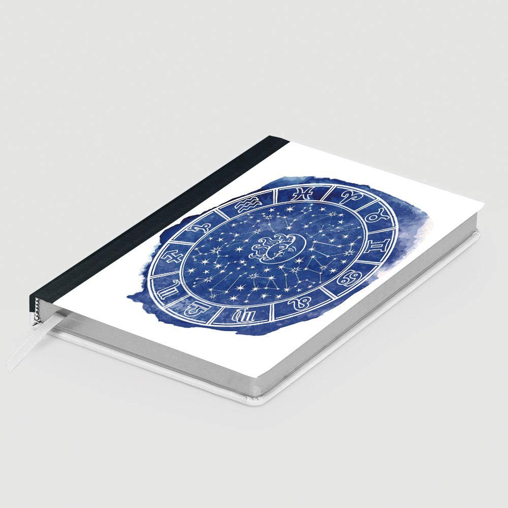 Amazon.com : Sun and Moon, Business Notepad Daolin Paper, Zodiac Circle Watercolor Backdrop Astrology Divination Fantasy Mystic Decorative, 96 sheets/192 ...