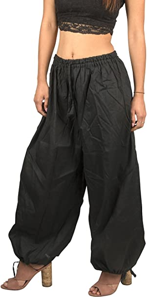 Amazon.com: Tribe Azure Harem Yoga Baggy 100% pantalones de ...