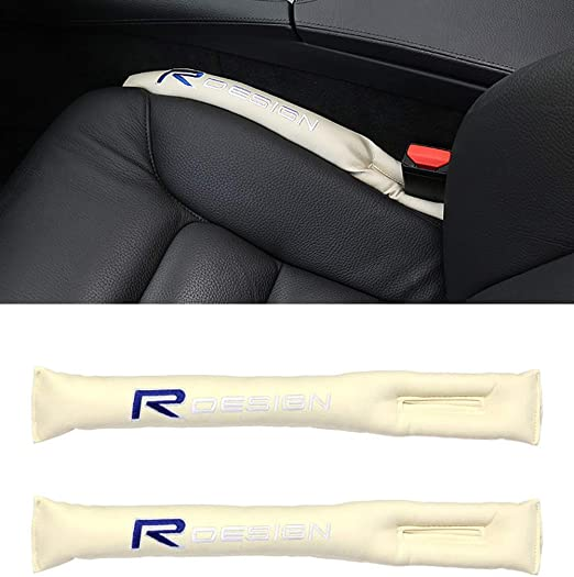 Xinshuo Autositz Lückenfüller Lückenkissen Pu Leder Interior Sitzlückenfüller Für Xc90 Xc60 S60l S90 S60 V40 V50 V60 C30 S80l 2 Stück Auto