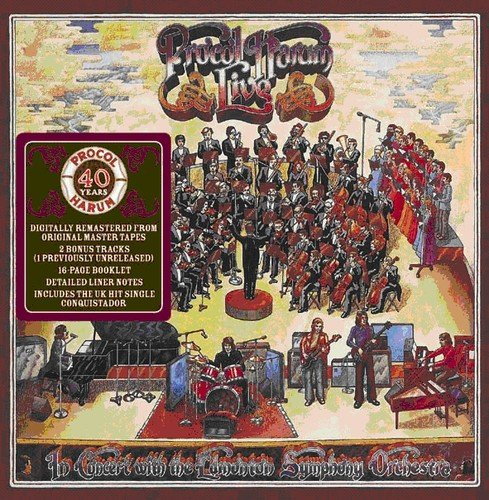 Live In Concert With The Edmonton Symphony Orchestra - Procol Harum