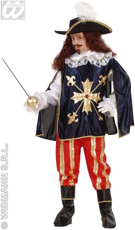 Disfraz de Mosquetero de la Cruz Infantil Carnaval: Amazon.es ...