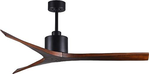 Matthews MW-BK-WA-60 Mollywood Indoor/Outdoor Damp Location 60″ Ceiling Fan