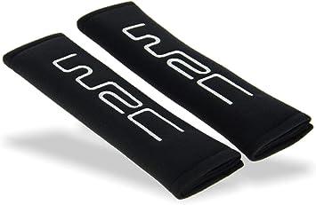 Richbrook Black Car Van Motorhome Padded Comfort Hardness Pad Seat Belt Covers Seatbelt Pads PACK OF 2