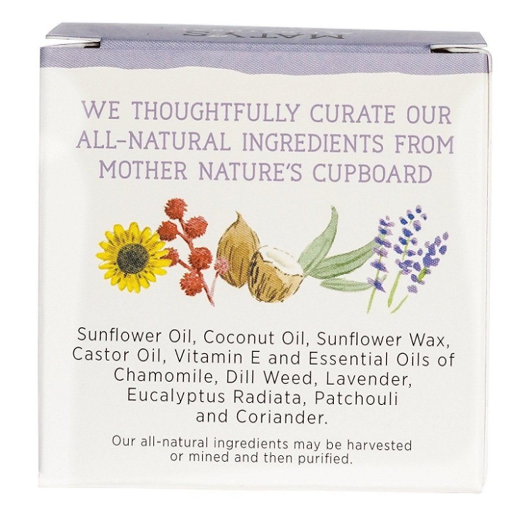 Maty's All Natural Baby Chest Rub, 1.5 oz Jar (Pack of 7)