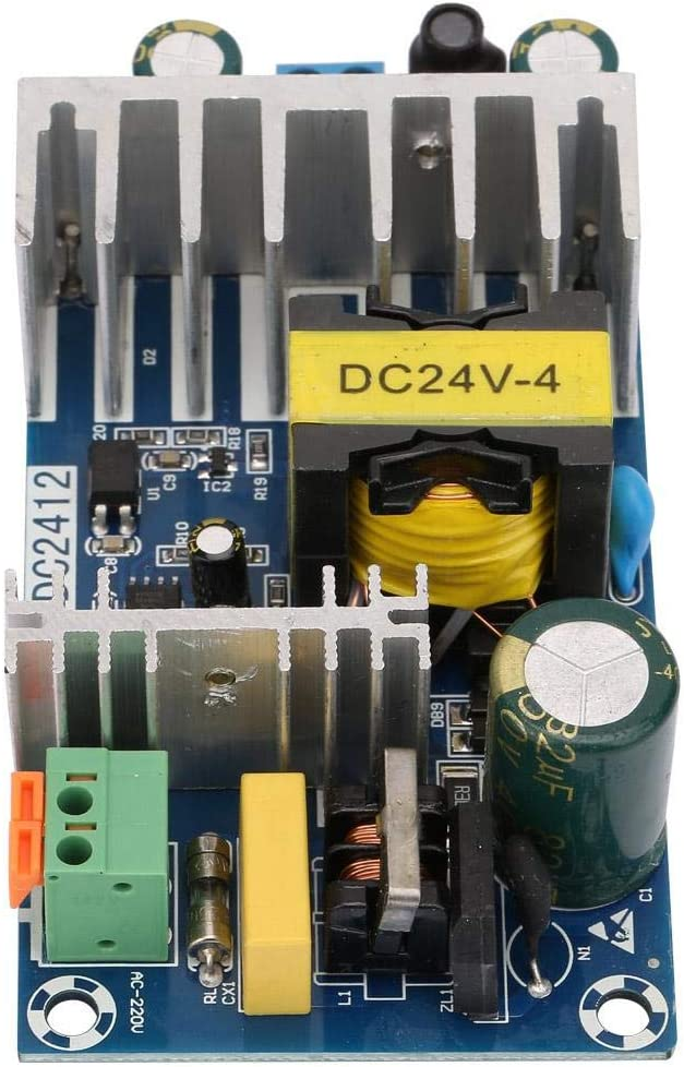 WX-DC2412 100W Switching Power Supply Board AC85V-245V Input DC24V 4-6A Output
