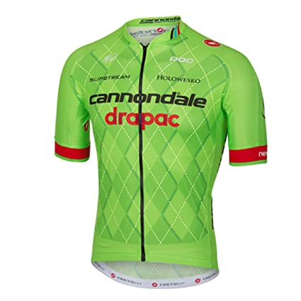 Castelli Mens Cannondale Team 2.0 Short Sleeve Cycling Jersey - V4206001  (drapac - S) e93764efb
