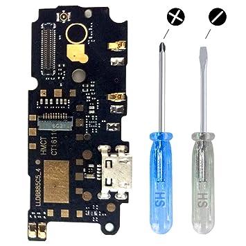 MMOBIEL Conector Dock Puerto Cargador para Xiaomi Redmi Note 4 Cable Flexible Incl. 2X Destornilladores y púa para una Fácil Instalaciónn