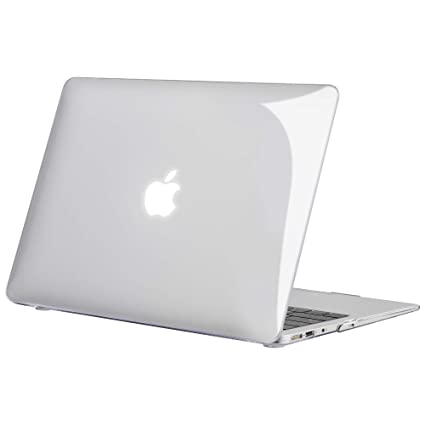 Tecool Funda MacBook Air 13 (Versión: 2010-2017), Delgado Cubierta de Plástico Dura Case Carcasa para MacBook Air 13