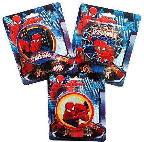 Marvel Ultimate Spider-man Night Light, Assorted Styles