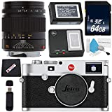 Leica M10 Digital Rangefinder Camera (Silver) + Leica 75mm f/2.5 SUMMARIT-M, Manual Focus + 64GB SDXC Card + Card Reader + Microfiber Cloth Bundle Review
