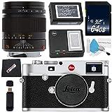 Leica M10 Digital Rangefinder Camera (Silver) + Leica 75mm f/2.5 SUMMARIT-M, Manual Focus + 64GB SDXC Card + Card Reader + Microfiber Cloth Bundle Review