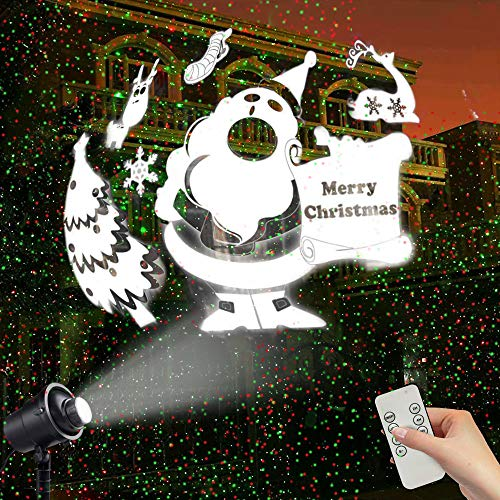 Christmas Projector Projection Waterproof Decorative product image