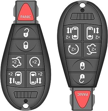 M3N5WY783X, IYZ-C01C Key Fob fits 2008-2014 Chrysler Dodge Jeep Keyless Entry Smart Remote