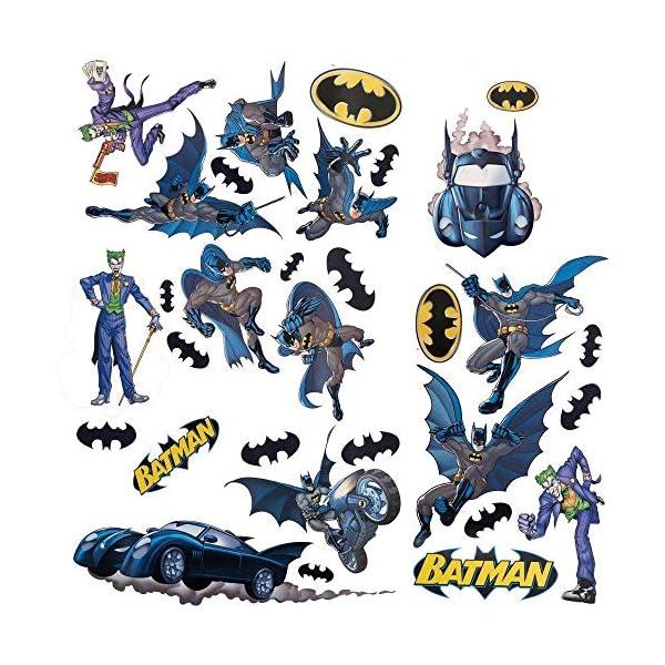 RoomMates Batman Gotham Guardian Peel and Stick Wall Decals – RMK1148SCS
