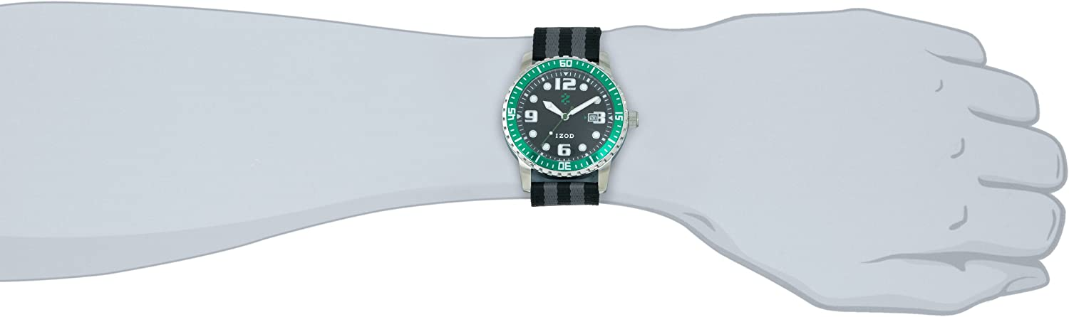 Ritmo Mundo Men s IZS3 4 Green Sport Quartz 3 Hand Watch