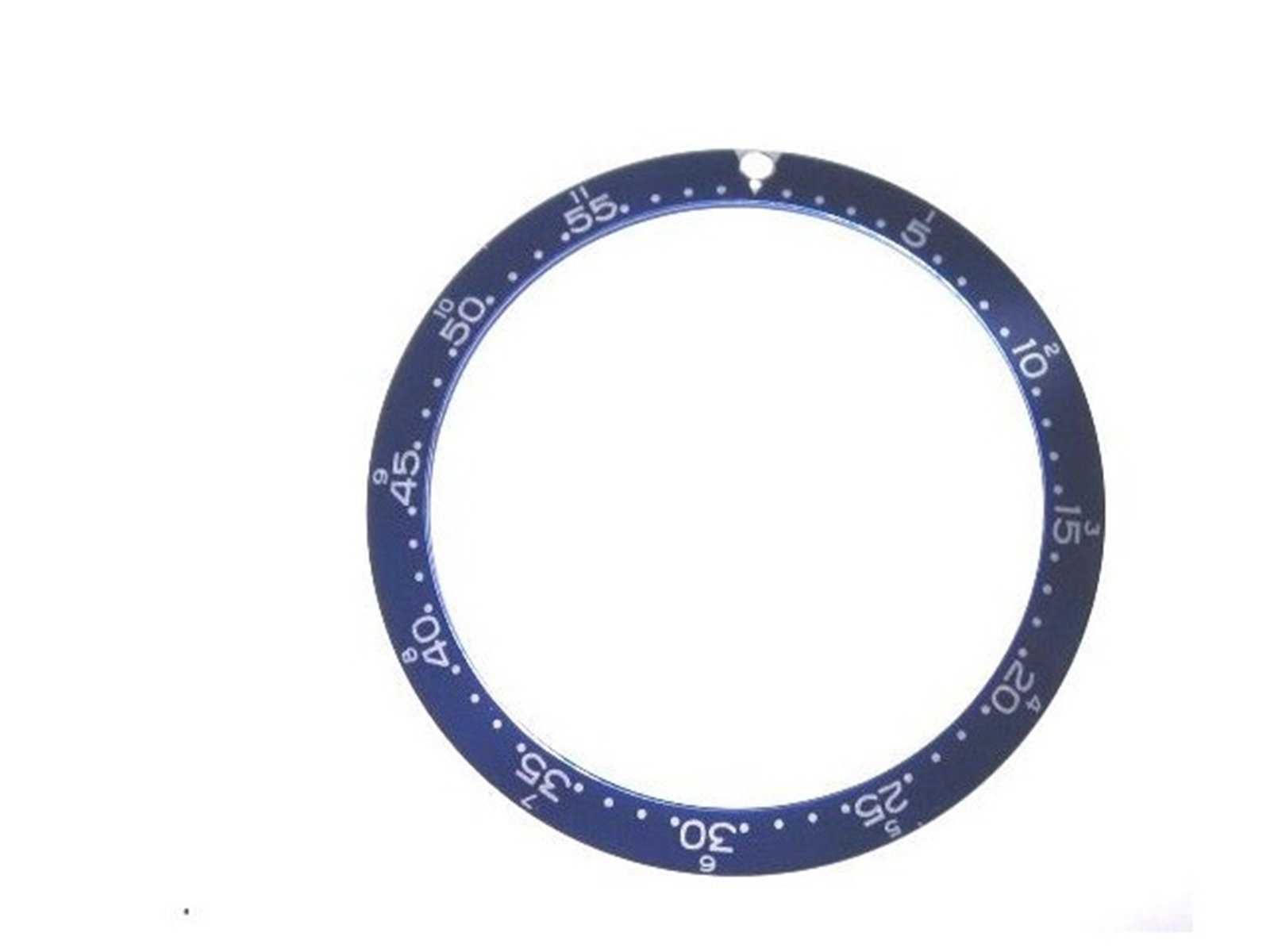 BEZEL INSERT FOR TAG HEUER SKIPPER CHRONOGRAPH BLUE PART by Ewatchparts
