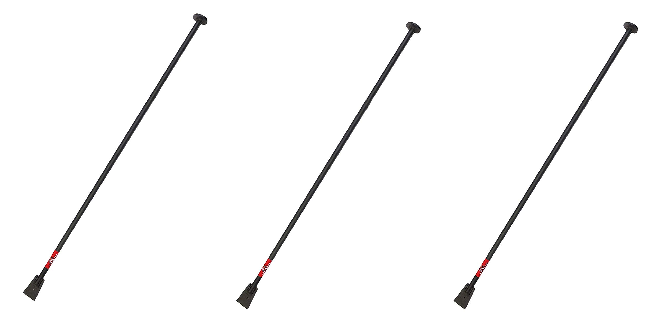 Bully Tools 92539 Steel Tamping and Digging Bar, 68-Inch (Pack of 3)