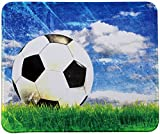 VIVIPOW Soccer Mouse Pad,Soccer On The Grass Mouse Pad (TM)