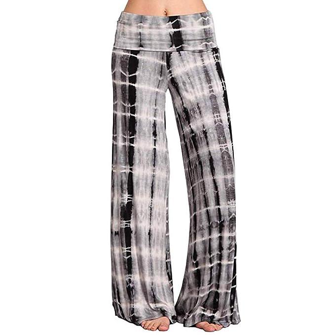 Vectry Pantalones Mujer Casual Yoga Imprimir Deportes ...