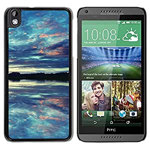 New Beautiful Custom Designed Cover Case For HTC Desire 816 With Reflections Phone Case