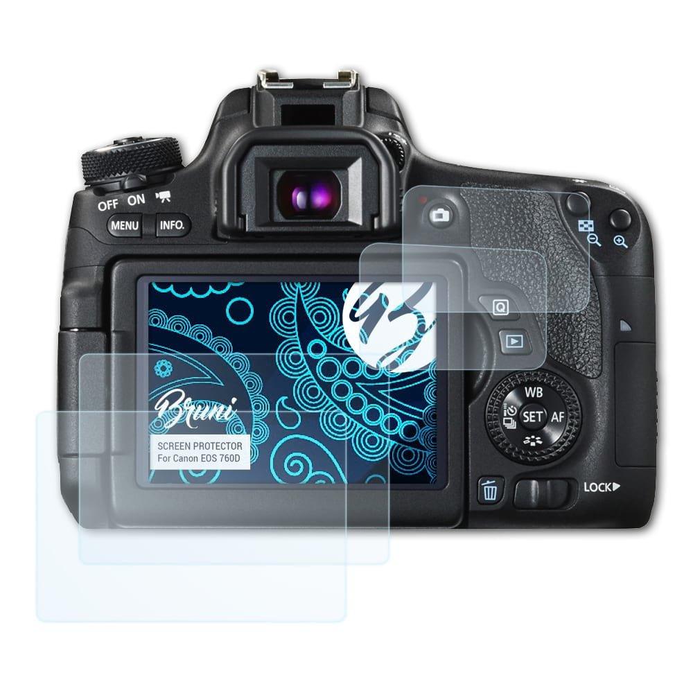 Bruni Película Protectora para Canon EOS 760D / EOS Rebel T6s ...