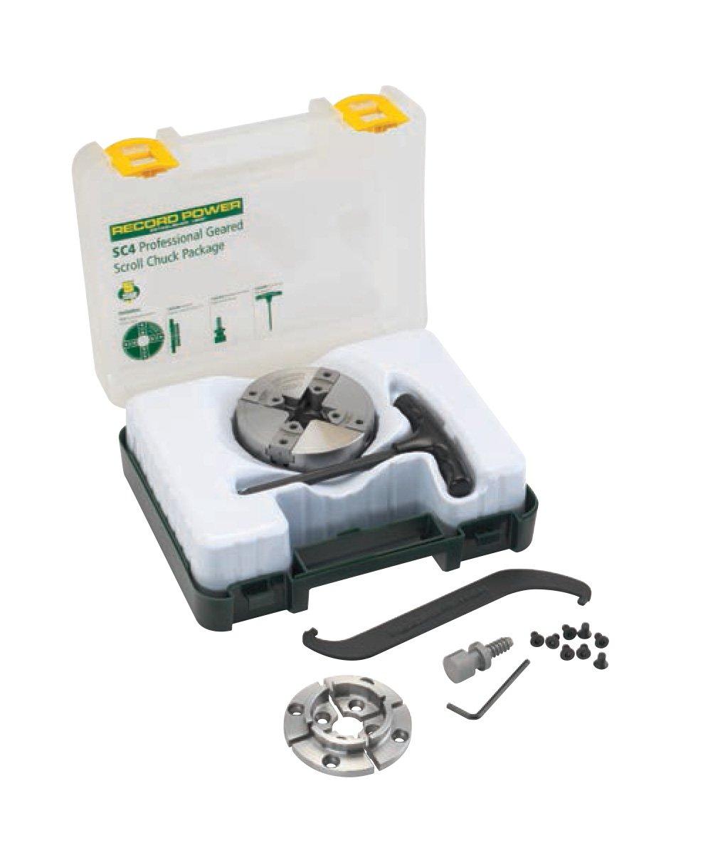 RIKON Power Tools 78-066 SC4 50mm Jaw Woodscrew & 2 Faceplate Package by RIKON Power Tools B01D35XE88