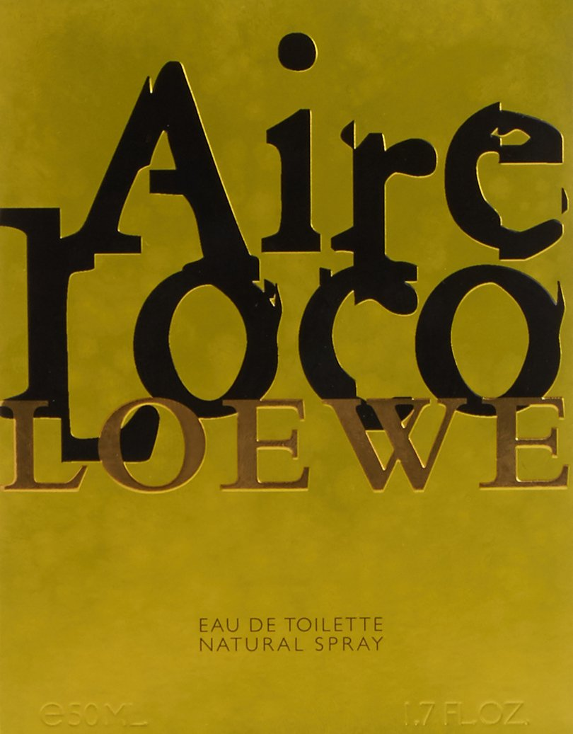 Amazon.com : Loewe Aire Loco Eau De Toilette Spray for Women, 1.7 Ounce : Beauty
