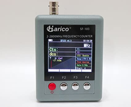 Amazon com: Harico SF-103 Frequency Counter 2MHz-2 8GHz for