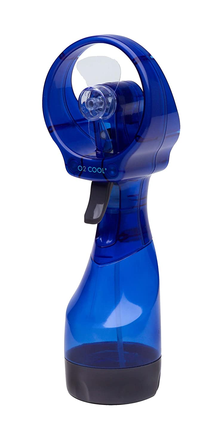Amazon.com: O2cool 8101 Deluxe Battery Operated Handheld Water Misting Fan   Colors May Vary: Home U0026 Kitchen