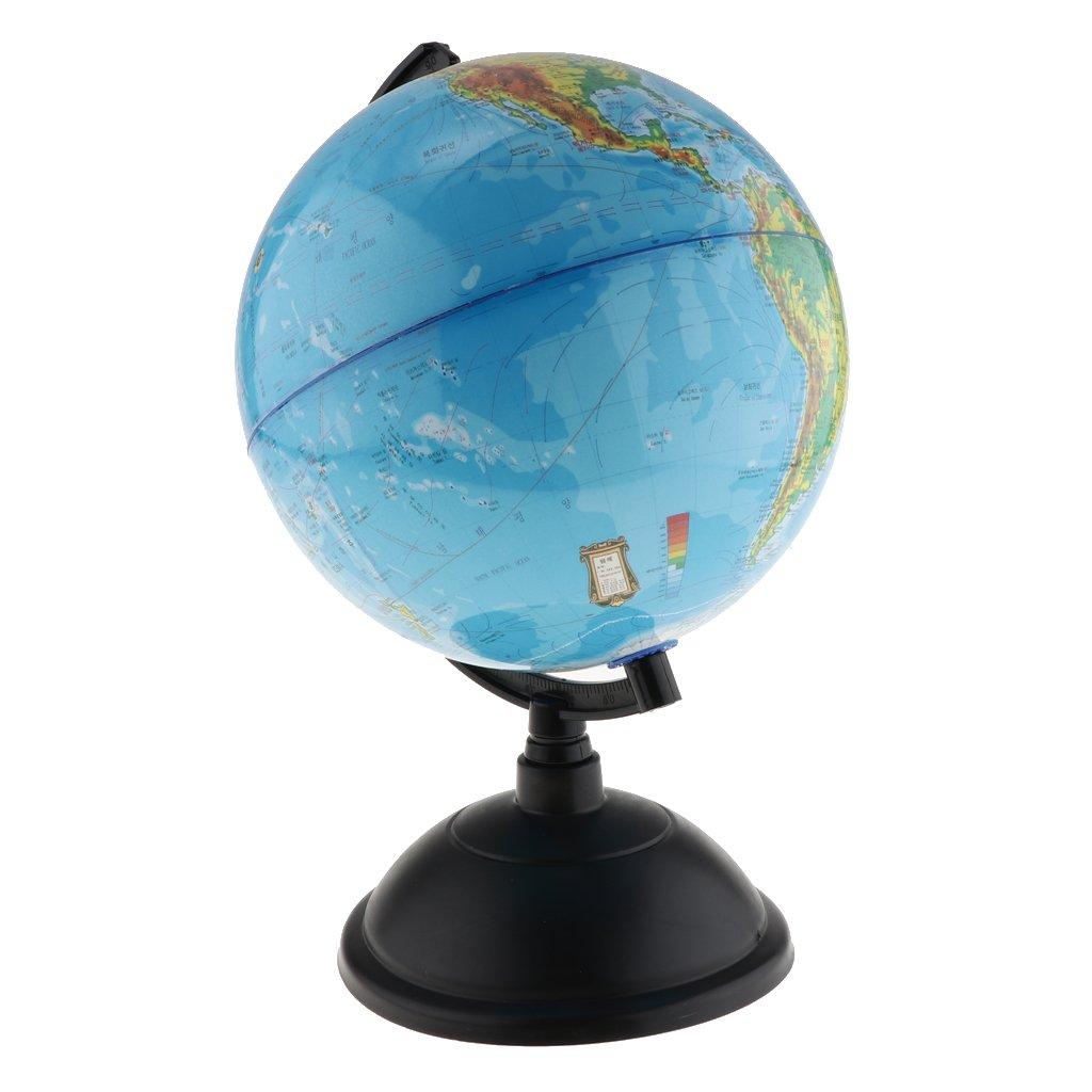 Fityle Korean Language Desktop Teaching Sphere Globe Model for Home Office School