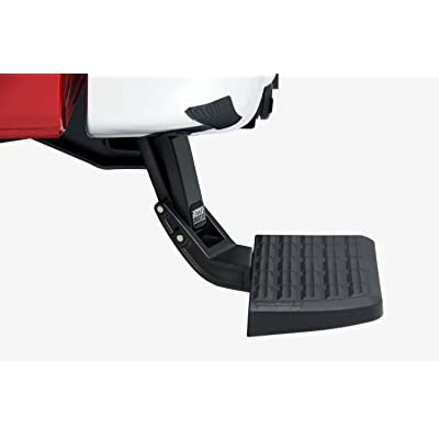 AMP Research 75303-01A BedStep Retractable Bumper Step for 1999-2016 Ford F-250/F-350/F-450: Automotive