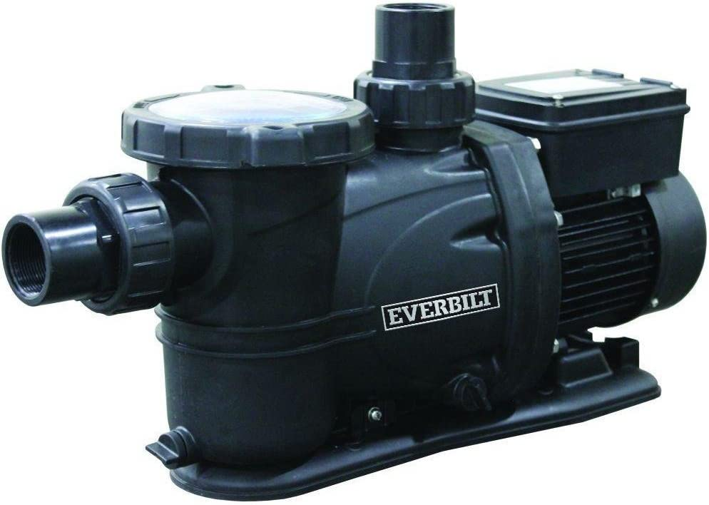 Everbilt 1 HP 230/115-Volt Pool Pump with Protector Technology