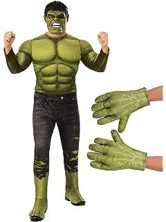 Amazon.com: Disfraz de Hulk Muscle para adultos, talla ...