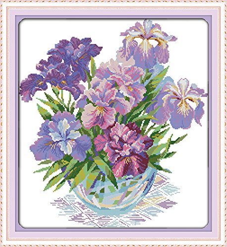 Stamped Cross Stitch Kits - Counted Cross Stitch Kit, Cross-