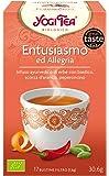 Yogi Tea Entusiasmo ed Allegria - 17 Bustine Filtro [30.6 gr] - [confezione da 3]