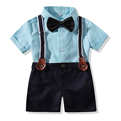 free delivery various colors durable service Ywoow Kids Clothes Baby Boy's Clothes Sets Gentleman Tops ...