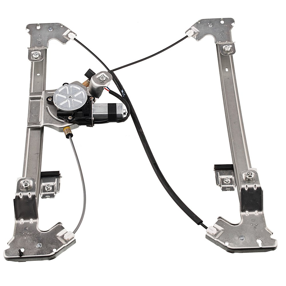741-968 Rear Left Driver Side Replacement Power Window Regulator with Motor Assembly for Ford F-150 2004-2008 Silver