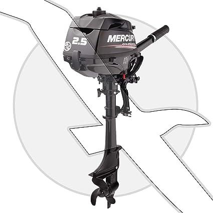 Mercury 2 5 HP 4 Stroke Outboard Motor Tiller 15