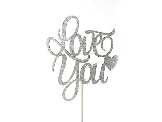 2 opinioni per Love cake topper decorazione oro/argento matrimonio fidanzamento Anniversary