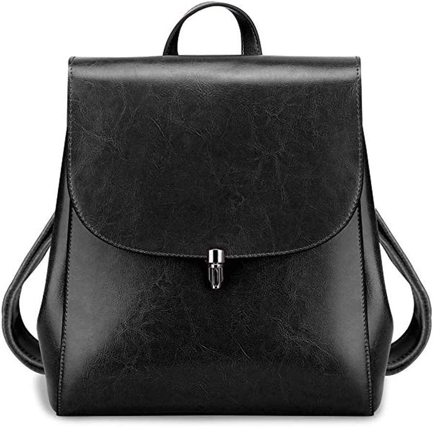 Color : Coffee HKJhk Womens Large-Capacity Fashion Leather Backpack