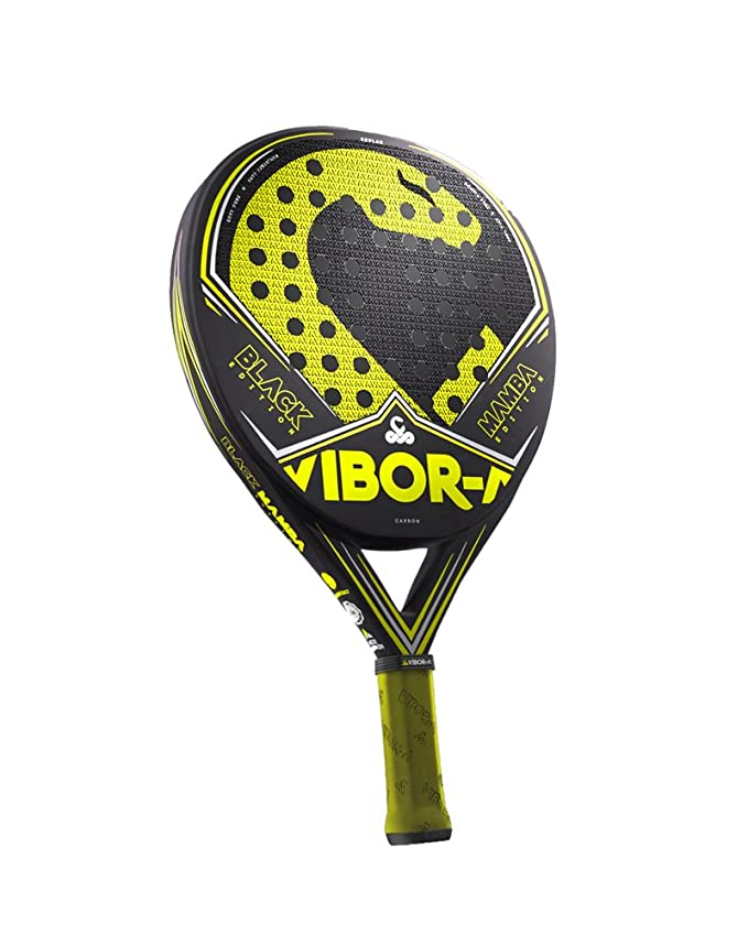 VIBORA Black Mamba Edition Liquid 2018 - Pala de padel, Multicolor