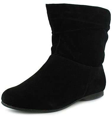 5f45a5a338b Womens/Ladies Black Wide Fitting Ankle Boots (Eee Fit) - Black - UK ...
