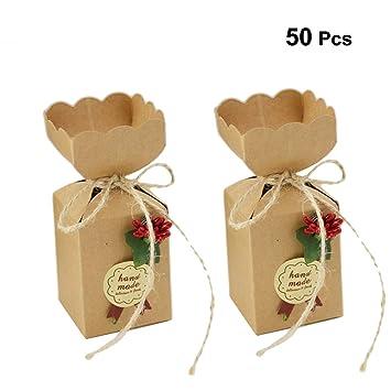 Toyvian Favores de Fiesta Cajas Galletas de Chocolate Dulce ...