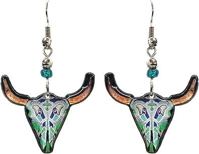 Animal Skulls Handmade Earrings