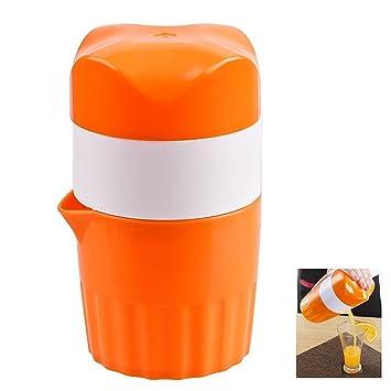 sy-athena rotación exprimidor manual de la tapa, Mini bebé exprimidor fácil de limpiar: Amazon.es: Hogar