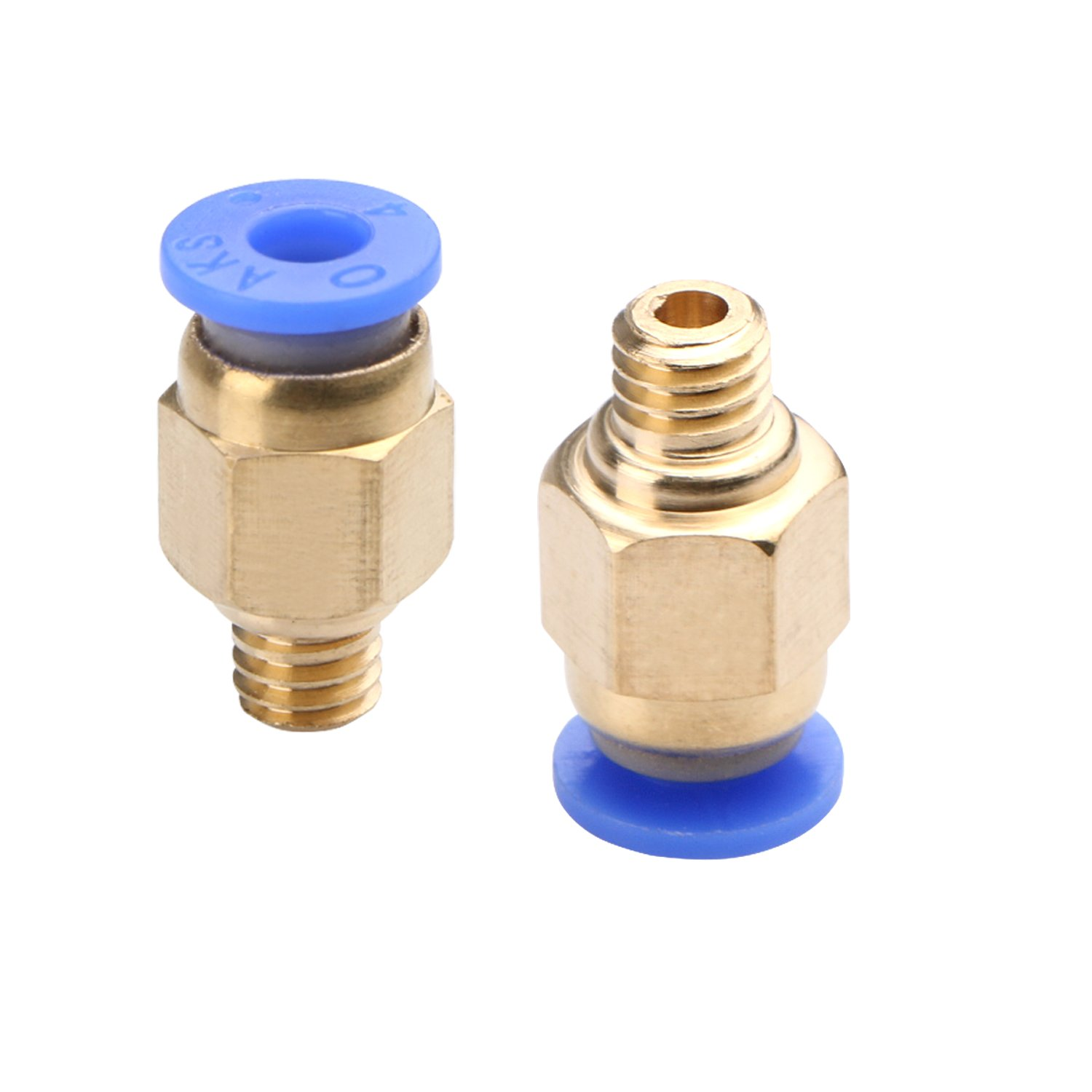 PC4-M6 Quick in Fitting for 3D Printer Bowden Extruder Pack of 30pcs Unime PC4-M10 Straight Pneumatic Fitting Push to Connect