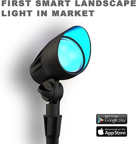 LED Color Changing RGB Spot//Directional Light Outdoor Landscape Low Voltage 12V
