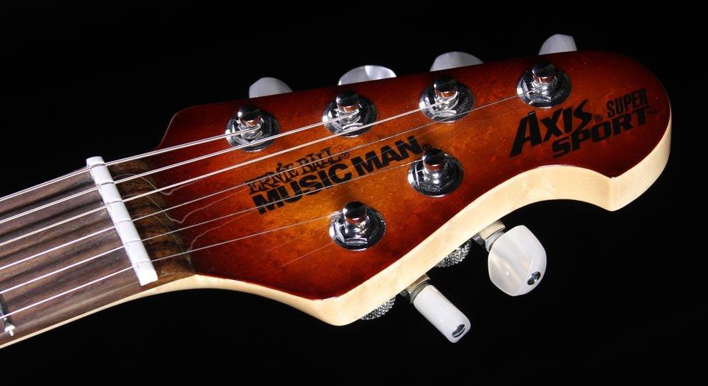 Ernie Ball Music Man Axis Super Sport Semi Hollow Mm90 Electric
