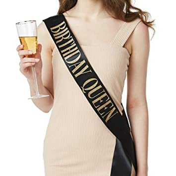 Amazon Birthday Queen Sash